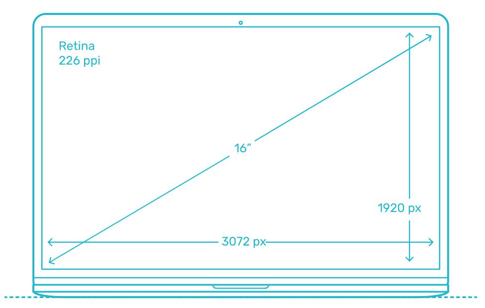 "MacBook Pro 16"" размери - NovMac"
