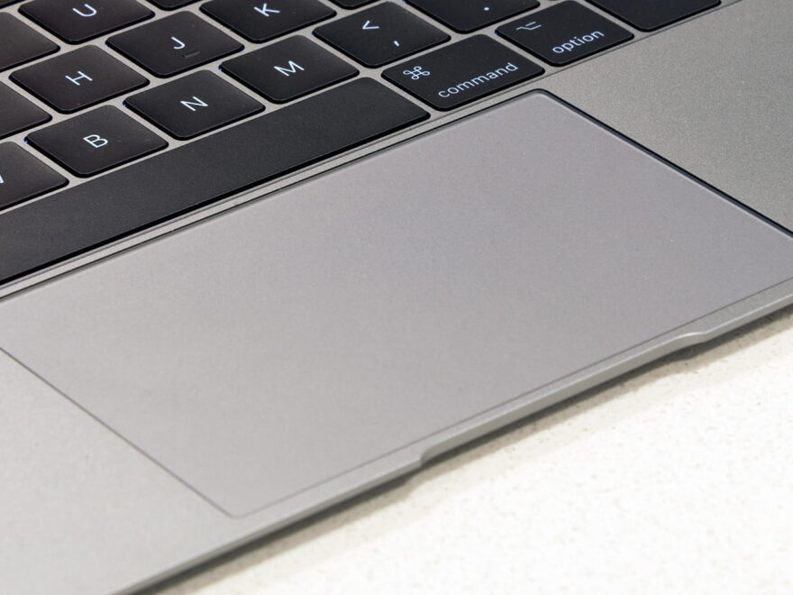 New US Patent for Touchpad for Macbook