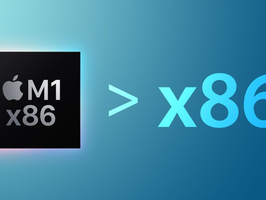 Mac M1 x86 emulation faster than x86