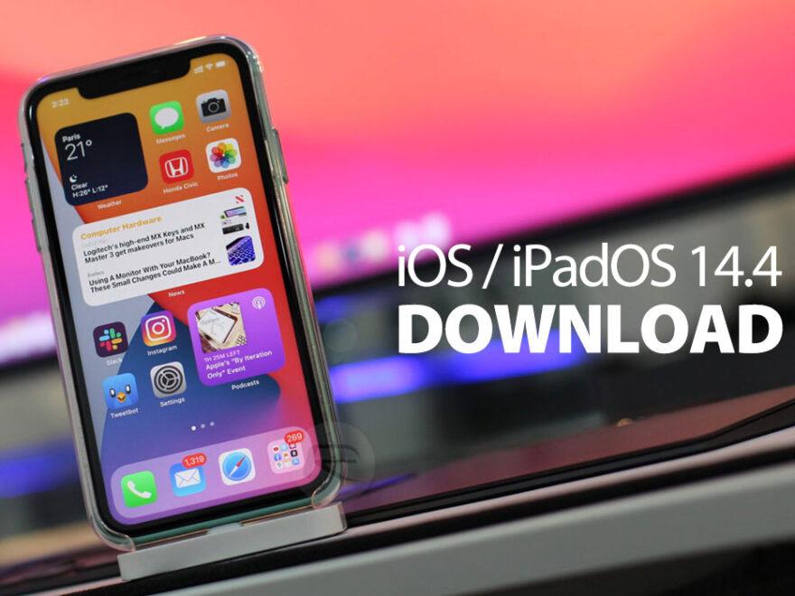 iOS iPadOS 14.4