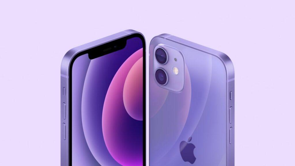 Purple iPhon 12