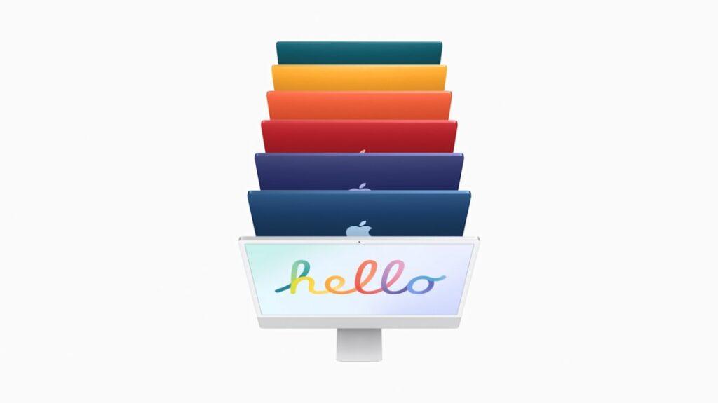 iMac M1 colors